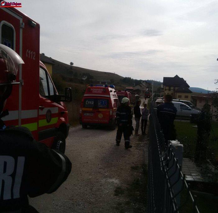 Incendiu la Azilul de bătrâni din Sălicea FOTO