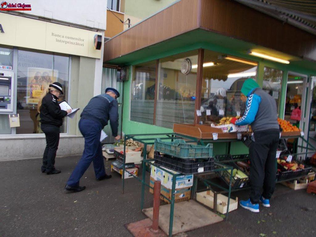 Cluj-Napoca: Polițiștii locali au aplicat sancțiuni și au confiscat marfă pentru vânzare în locuri neautorizate