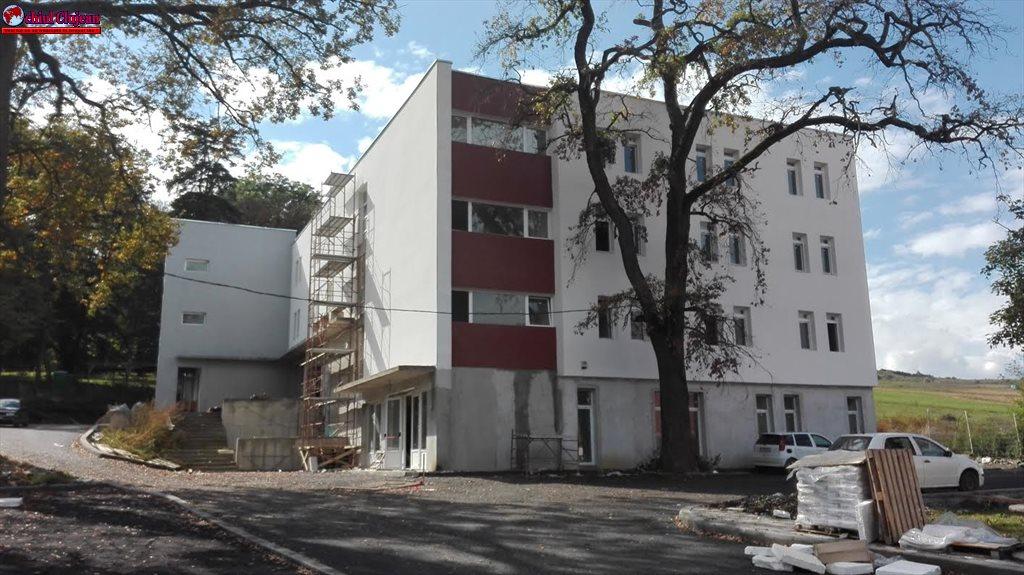 Lucrările la noua clădire a Spitalului de Boli Psihice-cronice Borşa se apropie de final FOTO
