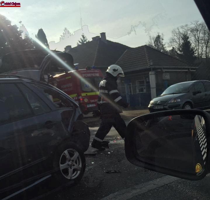 Accident în Florești FOTO