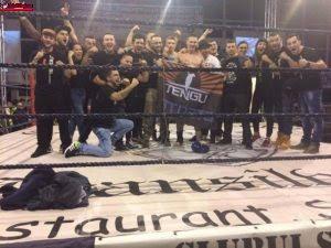 Sportivul Cibu Adrian a câștigat duminică seara turneul piramidal de kickbox de la  Deva