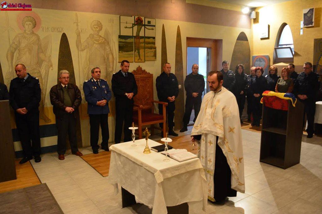 Jandarmii  își sărbătoresc patronii spirituali, Sfinții Arhangheli Mihail și Gavril