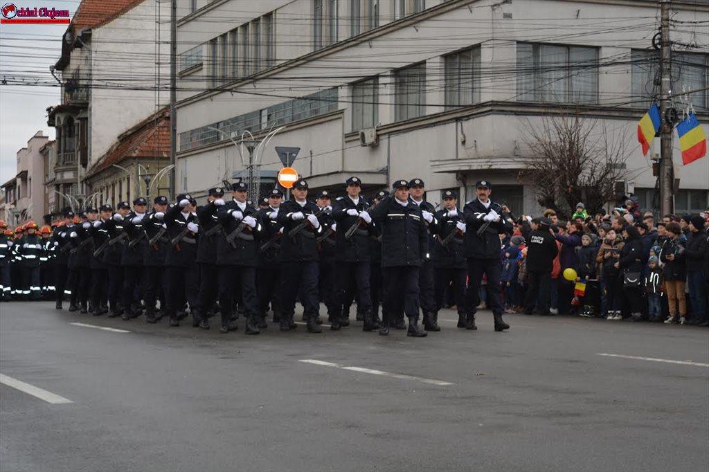 """Jandarmii clujeni asigură măsurile de ordine cu ocazia """"Zilei Naţionale a României"""""""