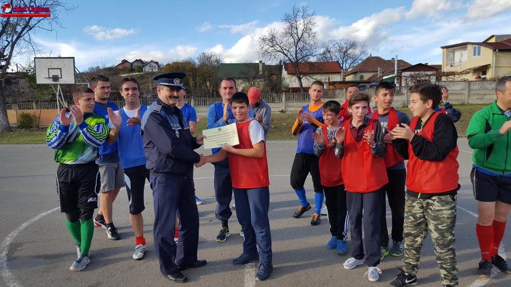IPJ Cluj: SPORT – NU VIOLENŢĂ! FOTO
