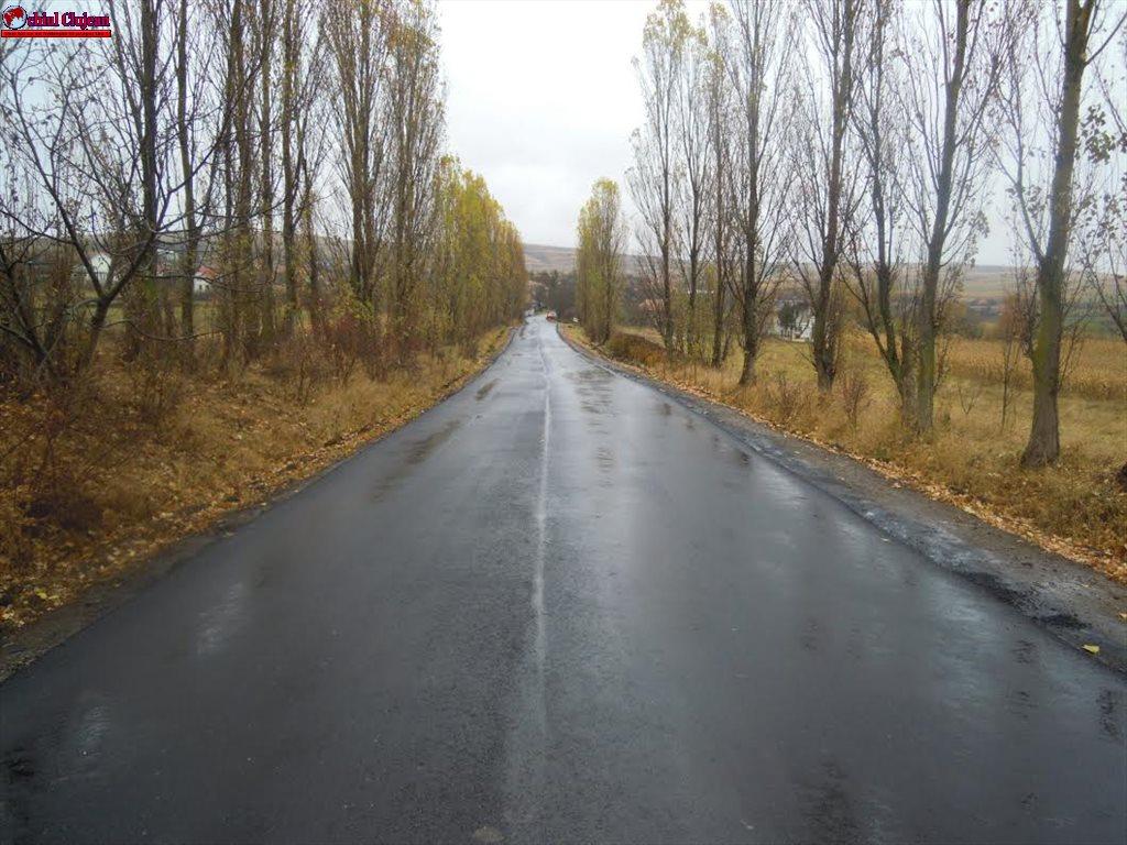 Un nou tronson de drum asfaltat pe drumul judeţean 103G: Tureni (DN1) – Ceanu Mic FOTO