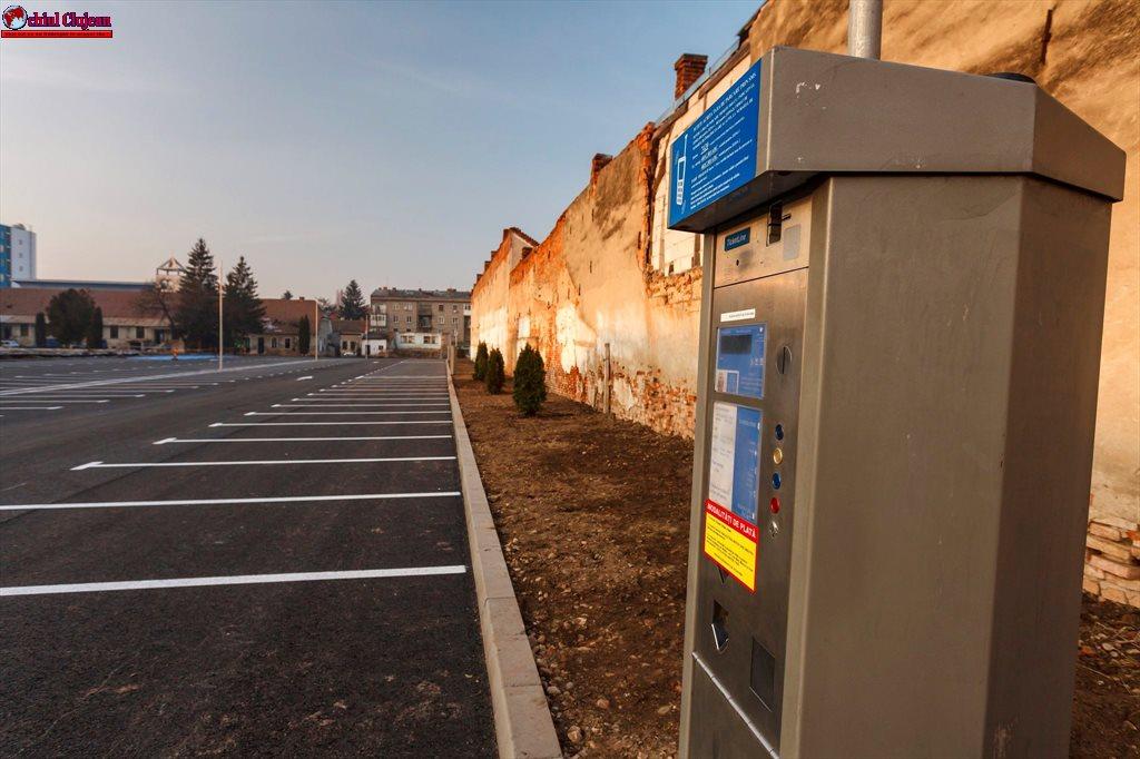 Cluj-Napoca: Se majorează tarifele la parcările orare din zona centrală. Vezi detalii