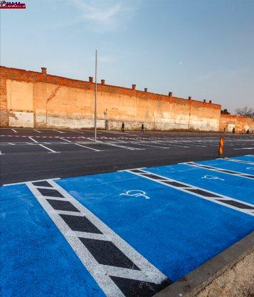 229 de noi locuri de parcare în zona centrală a Clujului FOTO