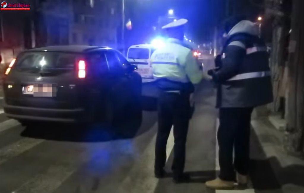 Gherla: Bărbat rănit grav de o mașină pe trecerea pentru pietoni VIDEO