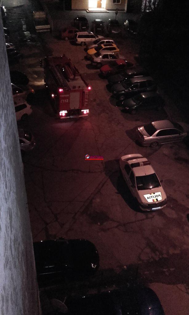 Scurgeri de gaz într-un bloc din Mănăștur! Pompierii au intervenit FOTO