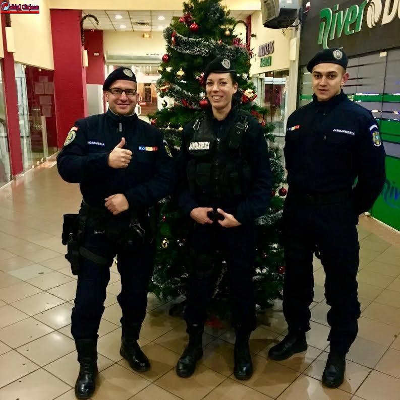 Jandarmii clujeni la datorie, pentru sărbători în siguranţă