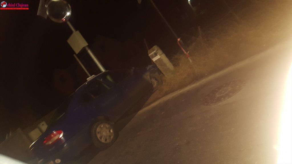 Accident în Florești. Șoferul unde a plecat? FOTO