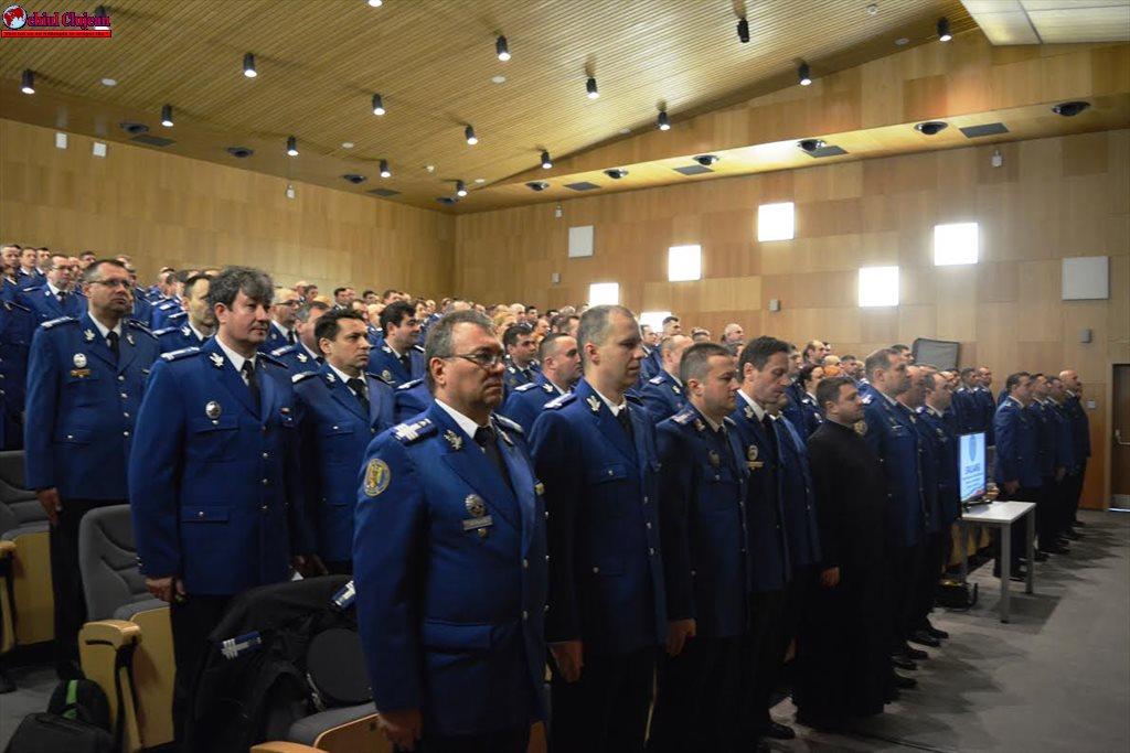 Evaluarea activităţii la Jandarmeria Cluj FOTO