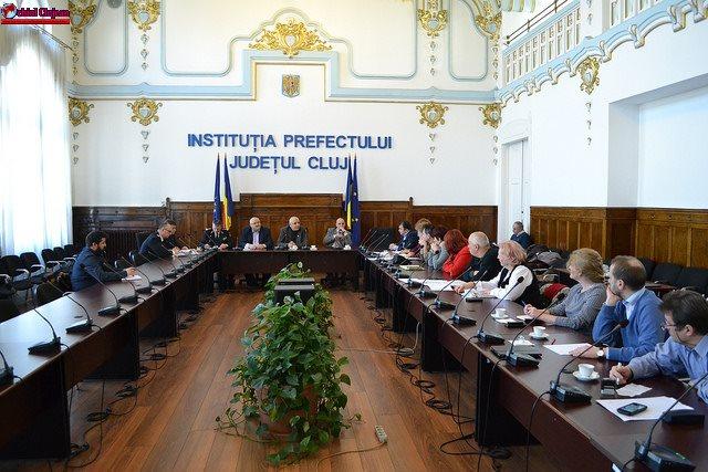 Şedinţă de analiză a sistemului de urgenţă din Cluj