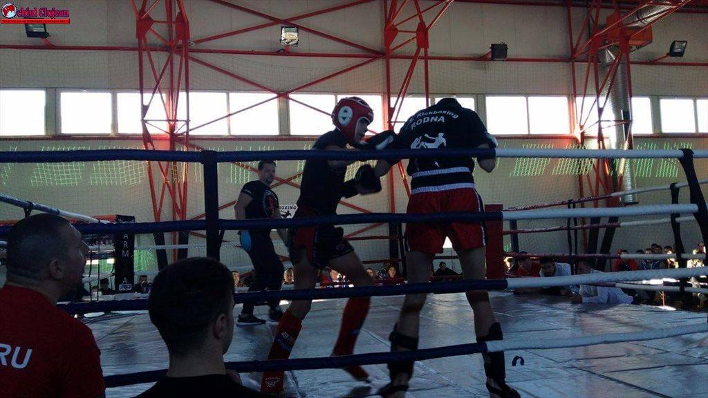 """Concursul de Kickox amatori """"CUPA RODNEI"""" ediția a 3-a, la Bistrița. 2 sportivi din Gherla au participat FOTO"""
