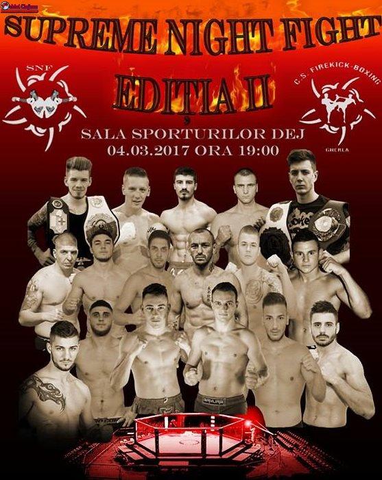 Gala Kickbox MMA va avea loc la Dej pe 4 martie