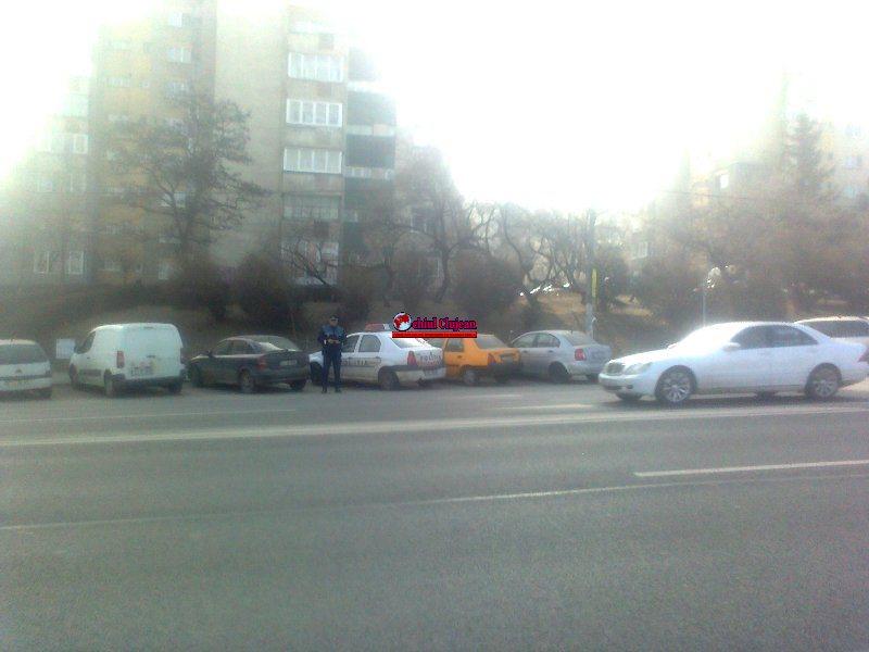 Cluj: 22 de pietoni amendați și 16 permise reținute