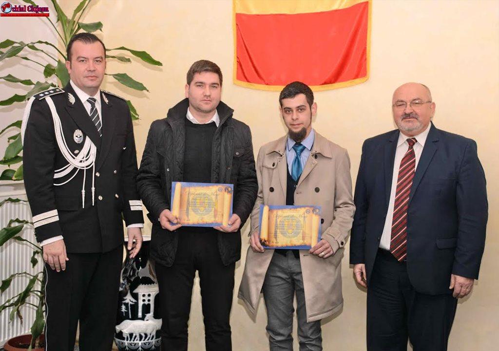 Spiritul civic apreciat și promovat de IPJ Cluj