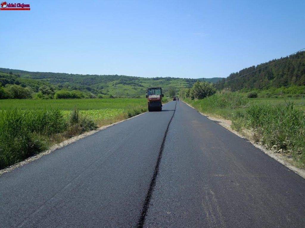 Consiliul Județean Cluj a inițiat un amplu program de modernizare și reabilitare a drumurilor județene