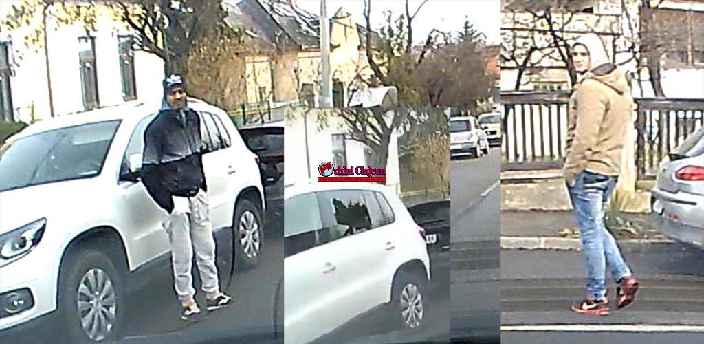 Cluj-Napoca: Spărgători de autoturisme filmați în timp ce încercau să fure bunuri dintr-un autoturism. Îi recunoașteți? VIDEO