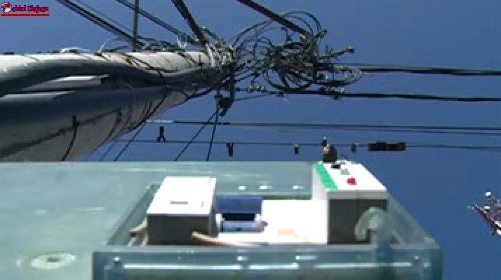Cluj: S-au branșat ilegal la rețeaua electrică