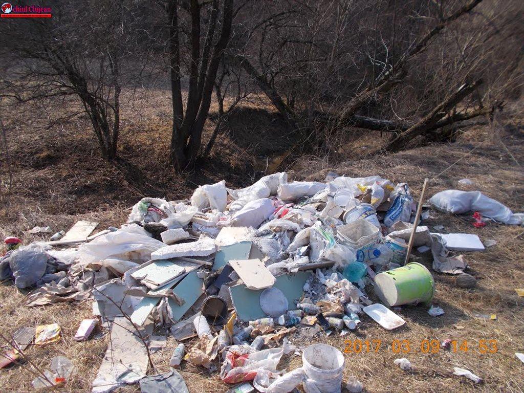 Cluj-Napoca: Amendă de 3.000  pentru depozitare ilegală de deșeuri