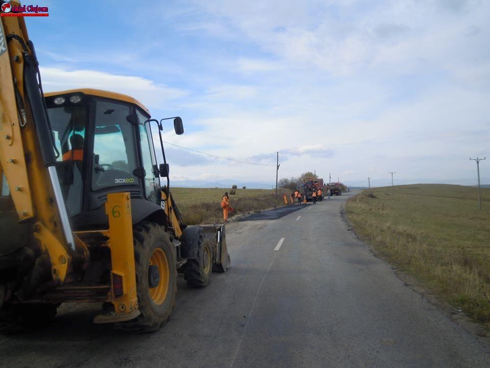 CJ Cluj: Drumurile județene vizate de lucrări de întreținere în anul 2017