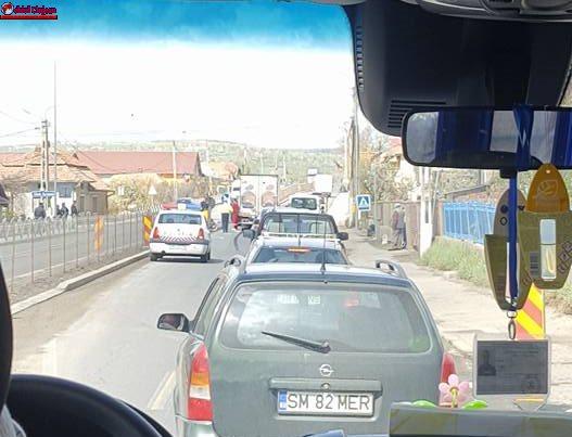 Accident MORTAL în Tureni. Bătrână spulberată de un autoturism pe trecerea de pietoni
