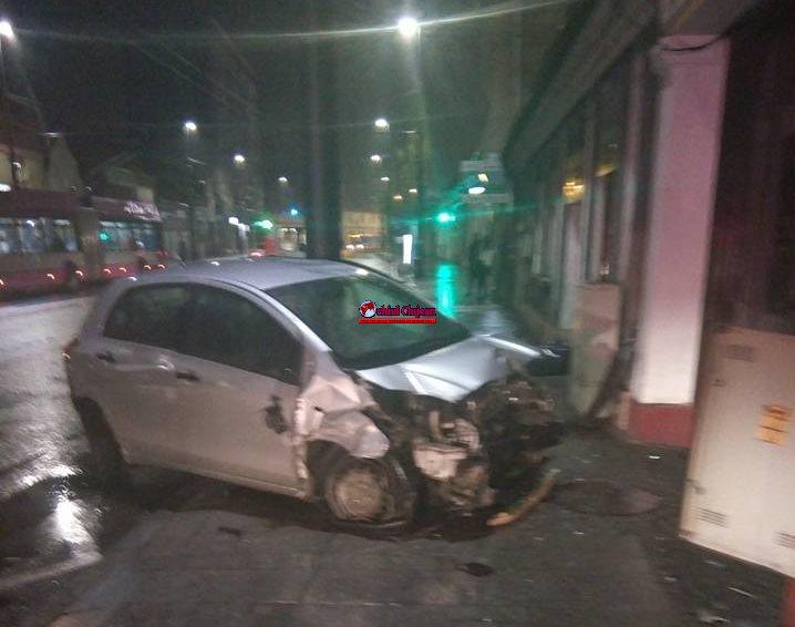 Accident pe Calea Moților FOTO