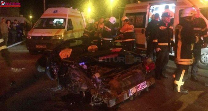 Accident TERIBIL la Turda VIDEO