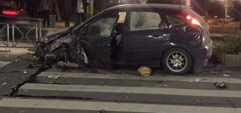 Accident lângă Opera Maghiară! Șoferul a fugit FOTO