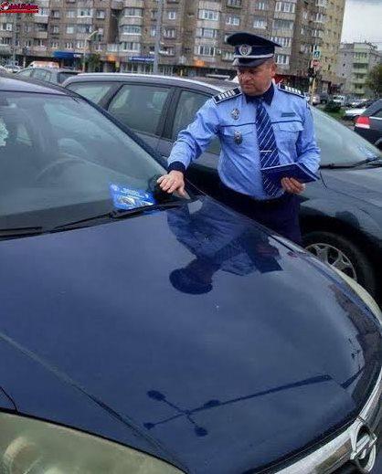 Cluj:  Polițiștii au acționat pentru prevenirea furturilor din auto FOTO