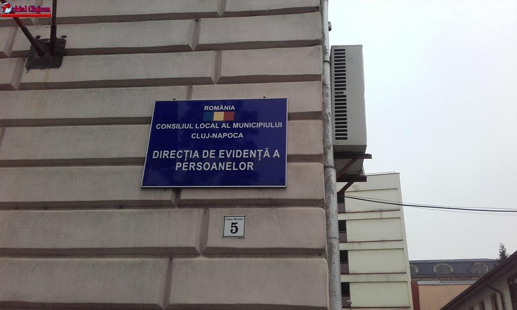 Cluj: Se reduce temporar programul de relații cu publicul al  Direcției de Evidență a Persoanelor