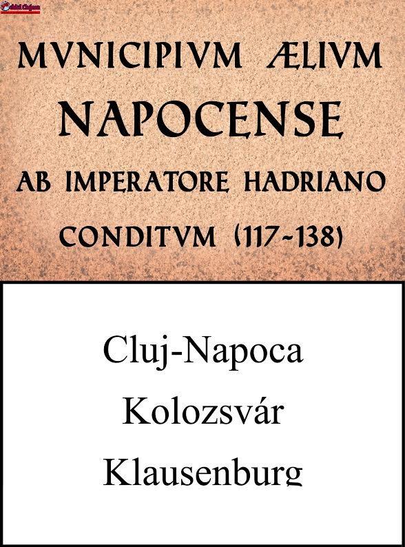 Primăria Cluj-Napoca va amplasa indicatoare multilingve la intrările în oraș, care să sublinieze dimensiunea istorică și multiculturală a municipiului