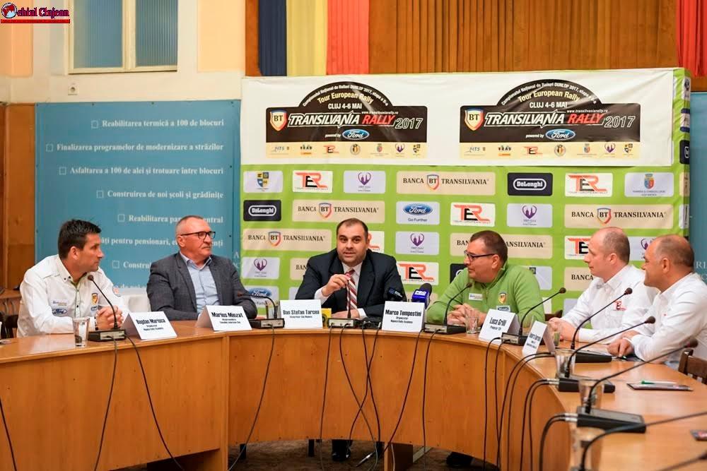Raliul european debutează pe drumurile județene din Cluj
