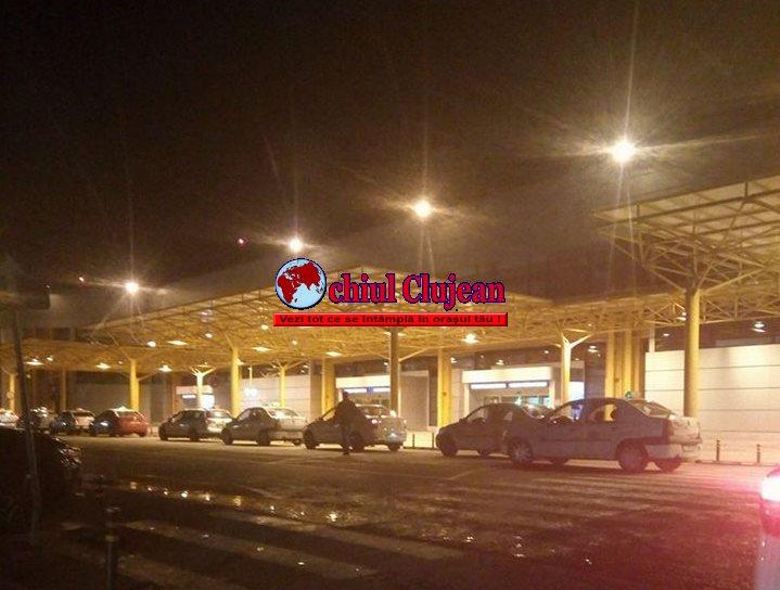 Razie la taximetriştii de la Aeroportul Cluj. Amenzi de peste 6500 de lei