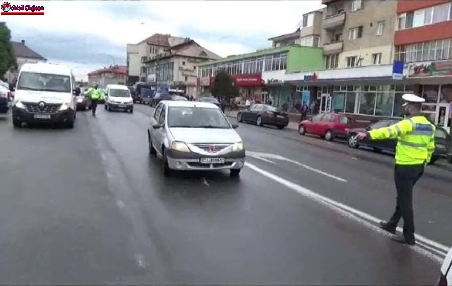Gherla: Acțiuni ale polițiștilor rutieri. Oamenii legii au reținut opt permise de conducere