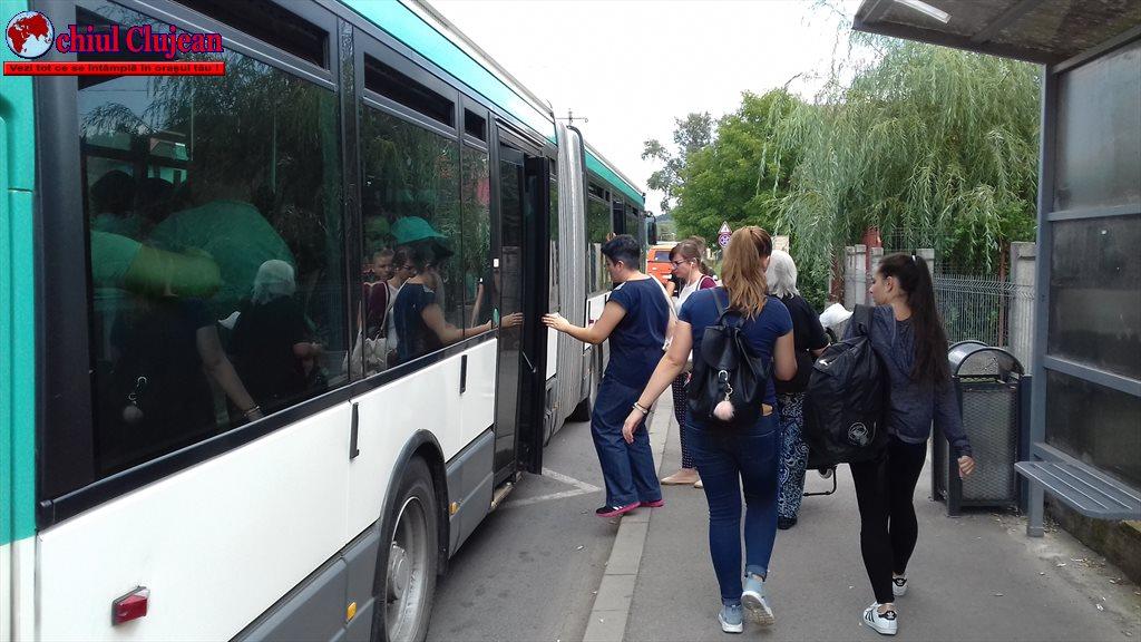 CTP Cluj: Se mută stația liniilor M11 și M12 din Piata Cipariu