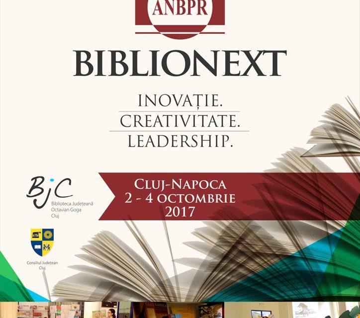 """Conferința Națională Biblionext: ,,Inovație. Creativitate. Leadership"""""""