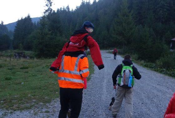 Cluj: Intervenții ale salvamontiștilor clujeni pentru salvarea de vieți omenești, printre care un copil de 10 ani FOTO
