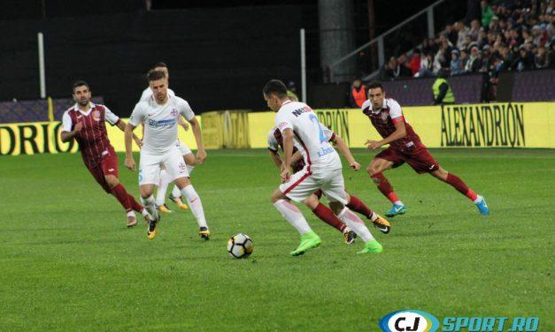 FOTBAL: CFR – FCSB 1-1