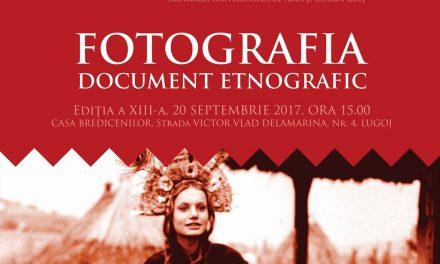 "Expoziția ,,Fotografia – Document Etnografic""  prezentă la Lugoj"