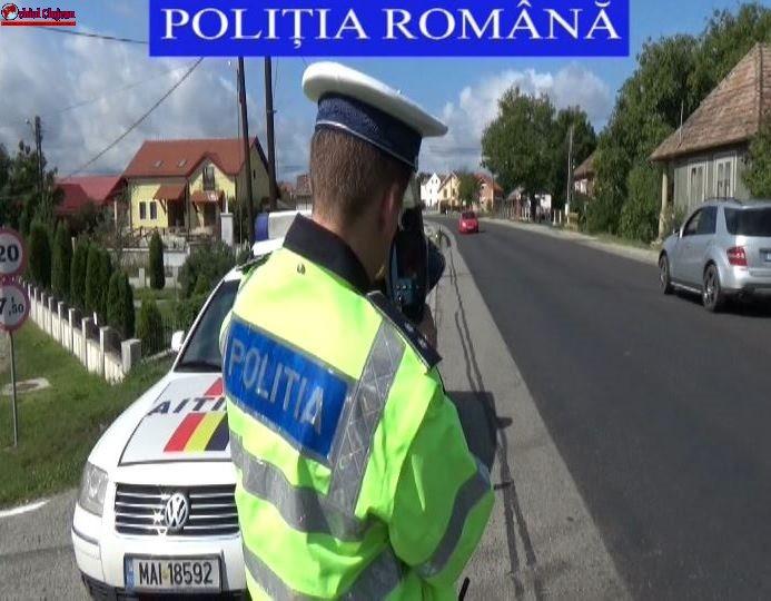 Acțiune de amploare a polițiștilor rutieri, la Dej VIDEO
