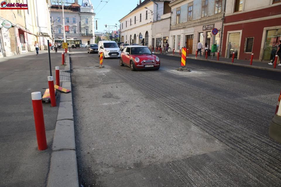 Cluj-Napoca: Obiective de infrastructură programate pentru a fi terminate până la inceputul anului scolar FOTO