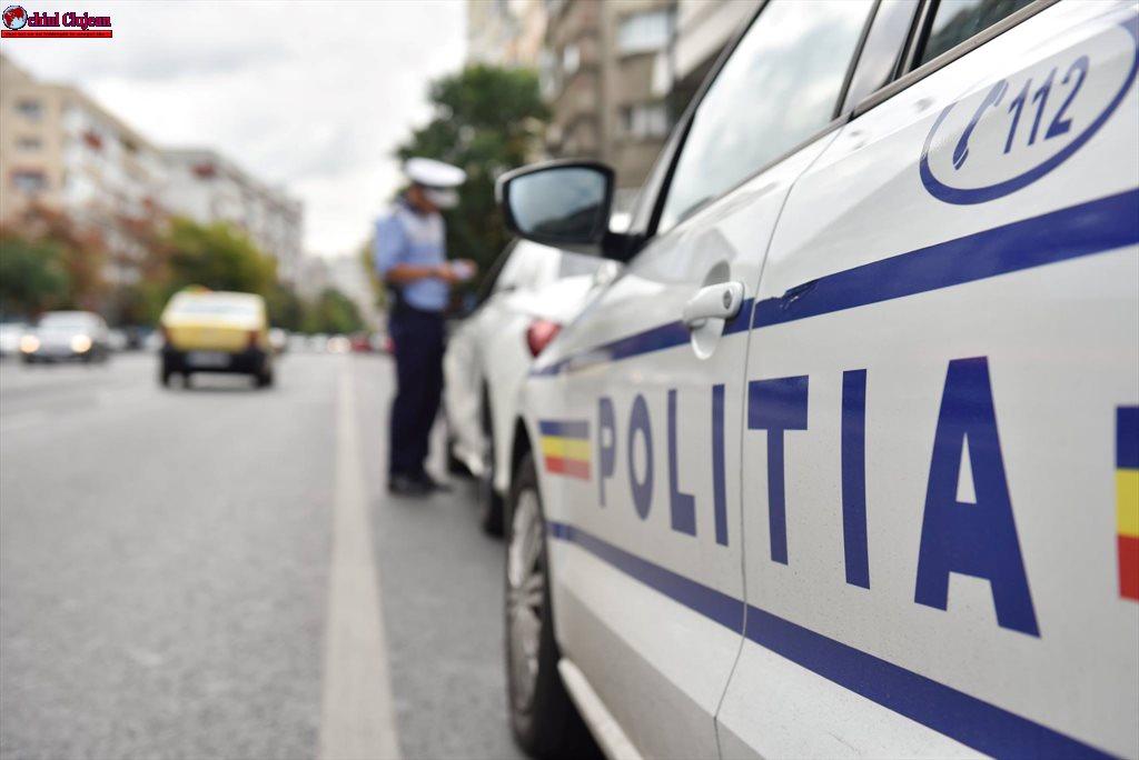 Infracțiuni rutiere constatate de polițiști în traficul clujean