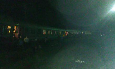 Tren deraiat la ieșire din Dej FOTO