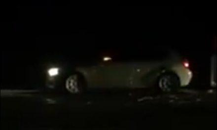 Cluj: Căruță spulberată de un BMW, la ieșire din Vâlcele VIDEO