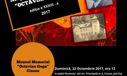 """Festivalul Național de Poezie ,,Octavian Goga"""", ediția a XXXIII-a"""