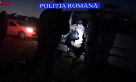 Urmărite internțional pentru comiterea unei infracţiuni de omor în Italia, depistate de polițiști VIDEO