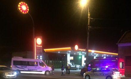 Accident pe strada Corneliu Coposu FOTO