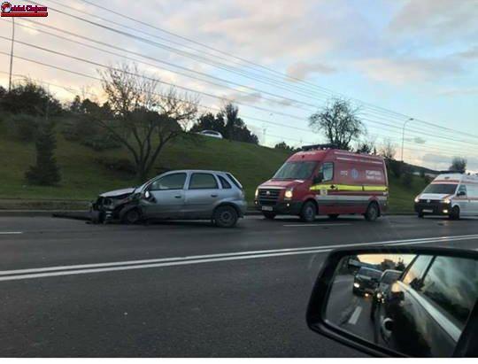 Accident cu două victime pe Calea Florești. Unul dintre șoferi a pătruns pe contrasens FOTO
